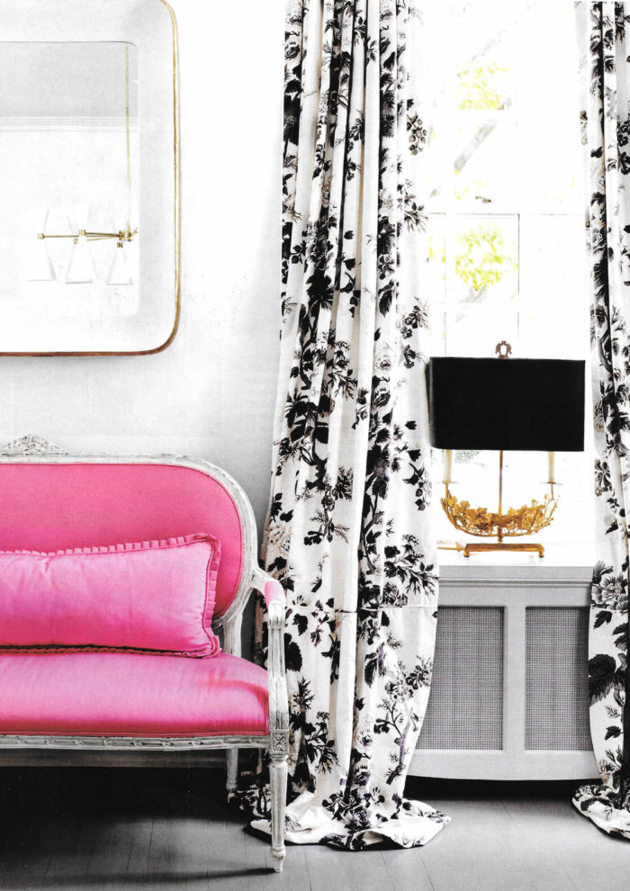 Pink Perfection: Suellen Gregory for House Beautiful