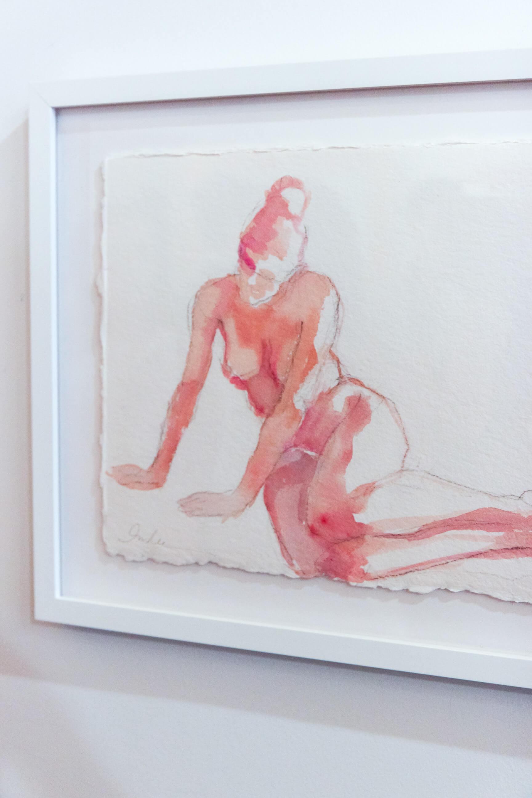 Inslee watercolor nude
