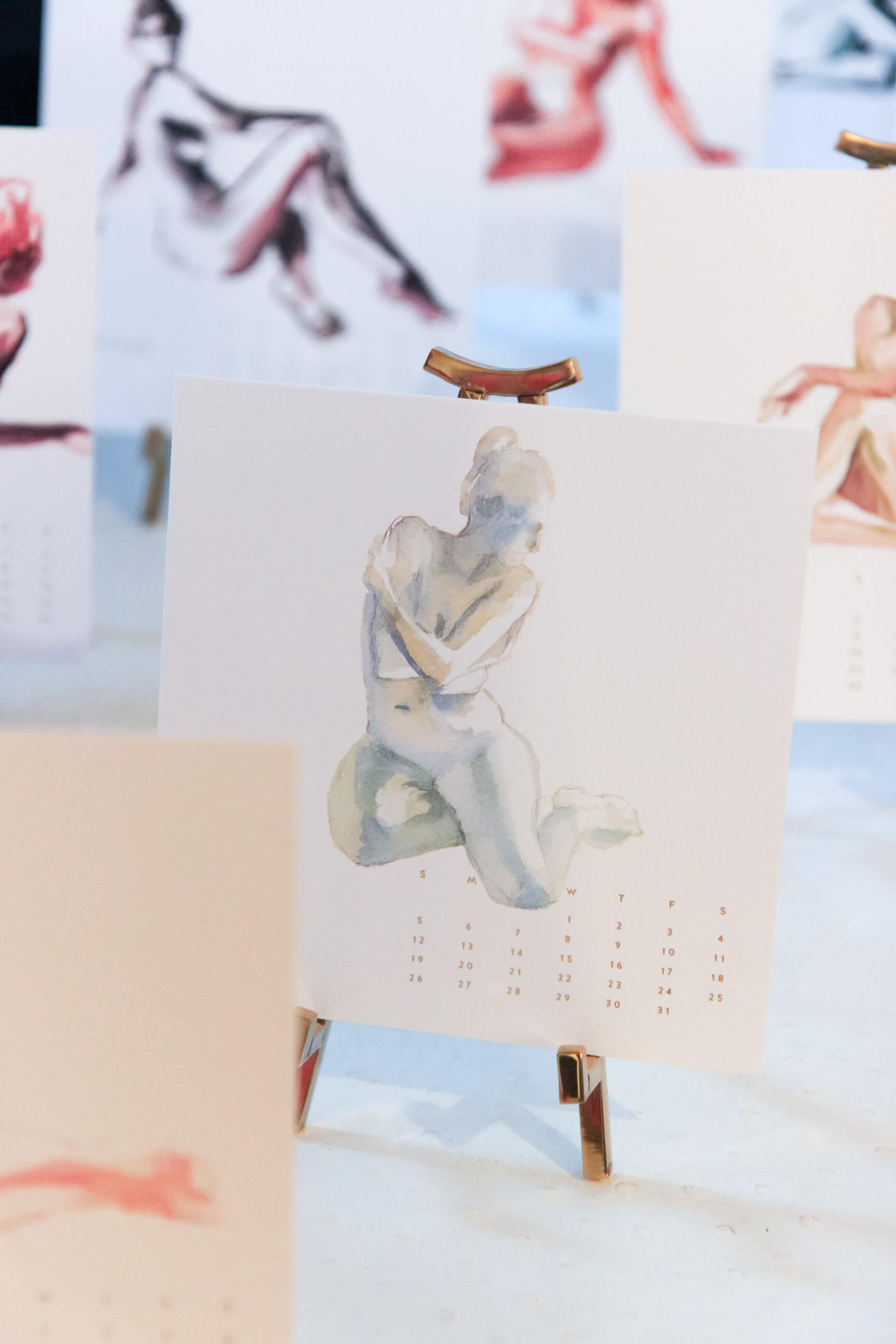 Inslee nudes desk calendar