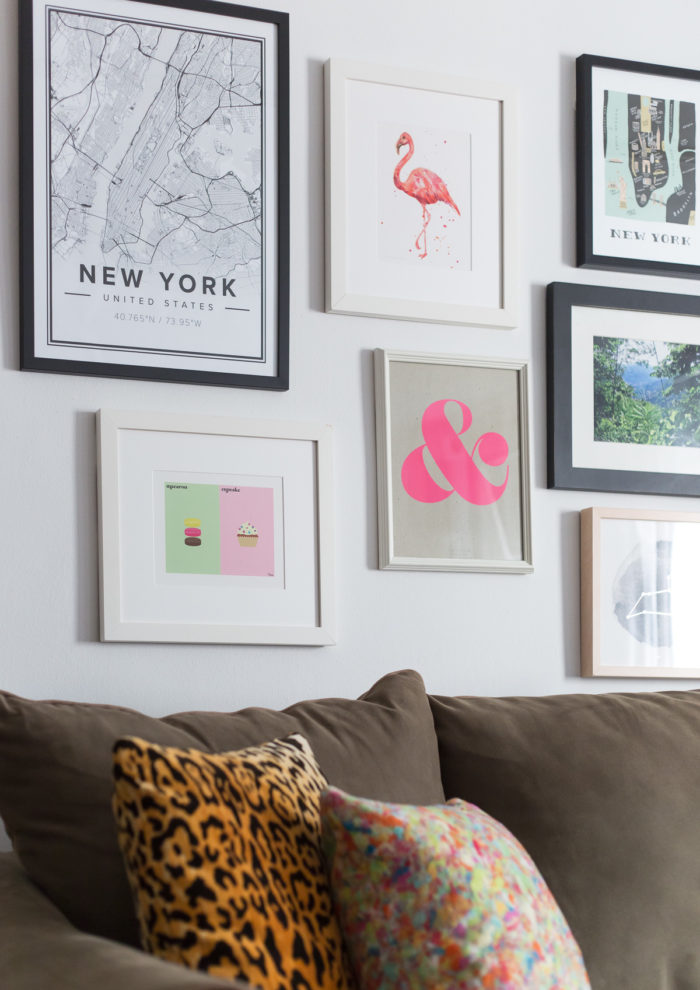 Before and After: Blank Wall to Gallery Wall