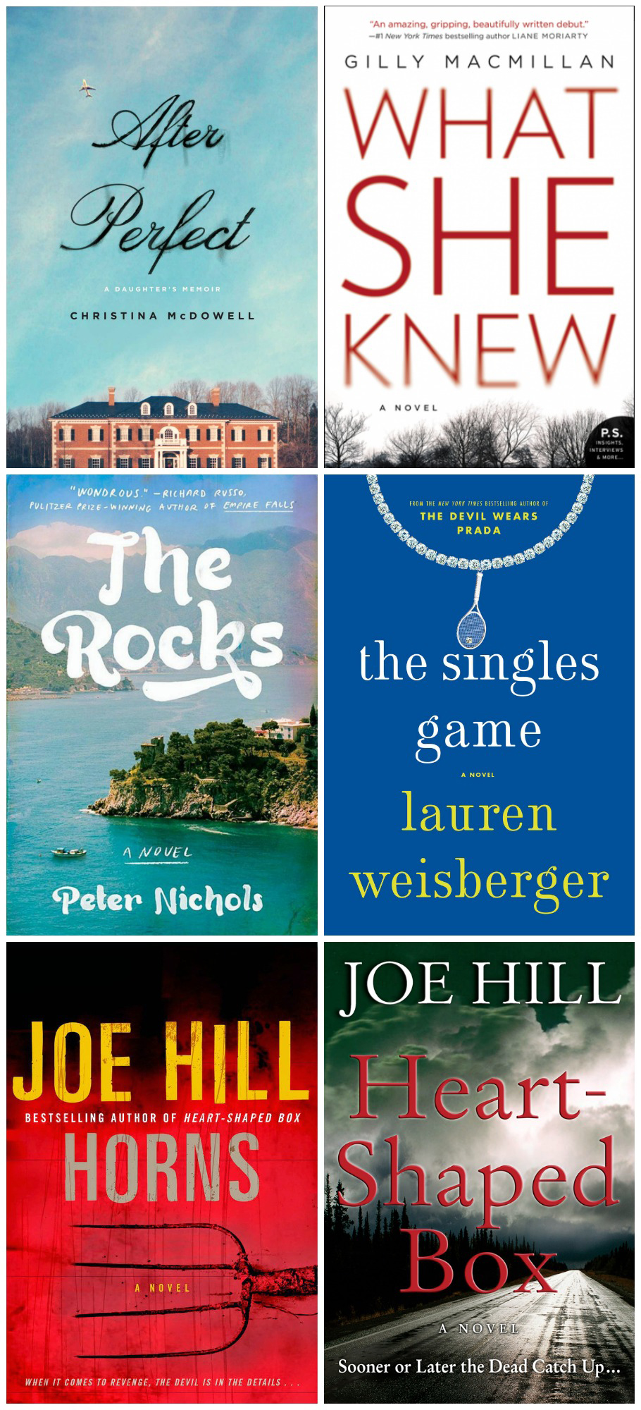 horns what she knew the singles game the rocks book reviews