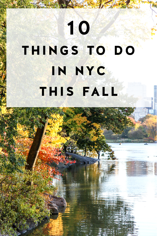 Upcoming events things to do in nyc in fall york avenue for Nyc stuff to do