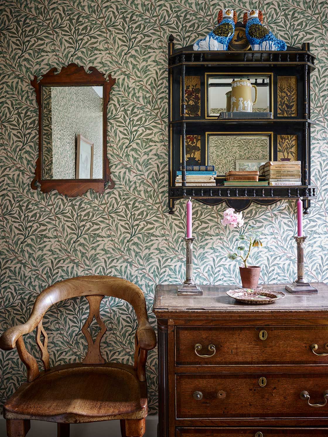 Eclectic Cottage Interior