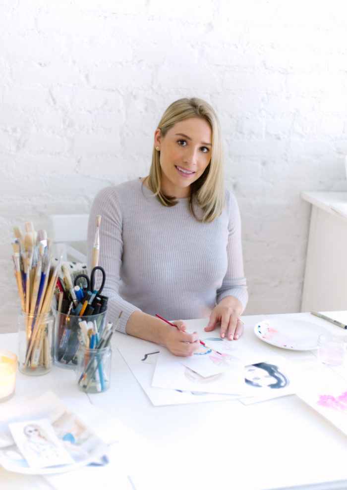 A Few Questions With: Artist Melissa Luster of Illusterations
