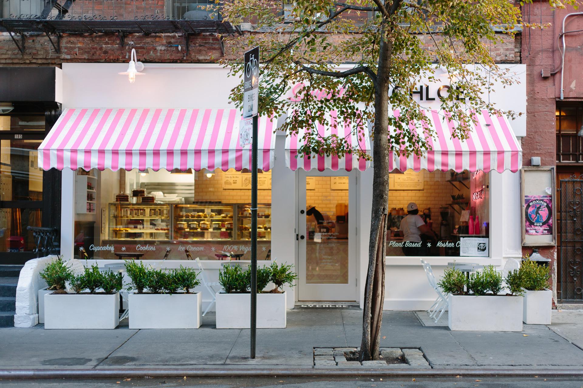 Sweets by Chloe vegan bakery in New York City