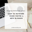 Blogging BTS: How to Network When You're Just Starting Out
