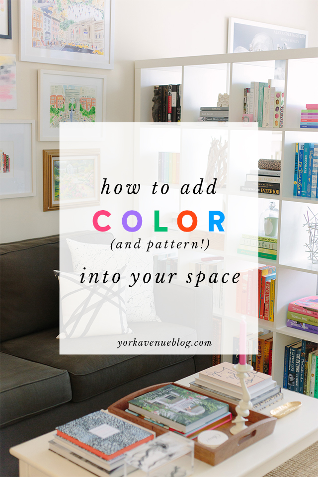 How To Incorporate Color And Pattern Into Your Space Without It Looking Crazy