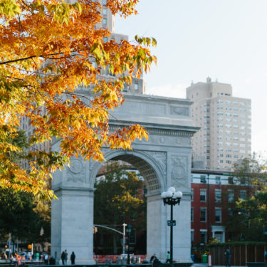 Photo Essays: Fall in Washington Square Park