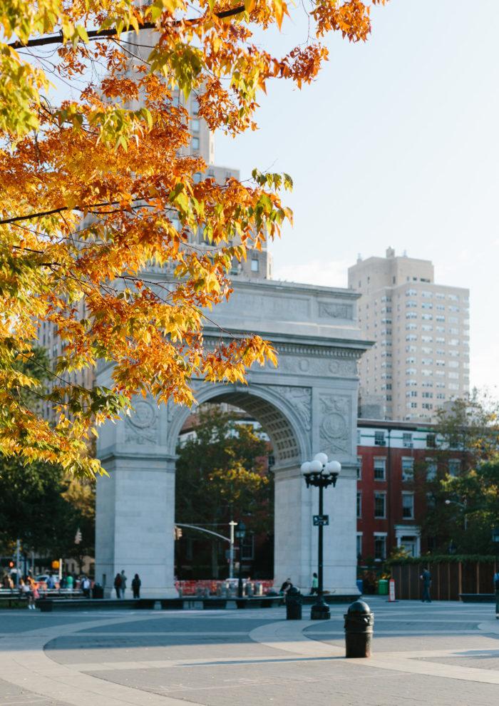 Photo Essays: Fall in Washington Square Park