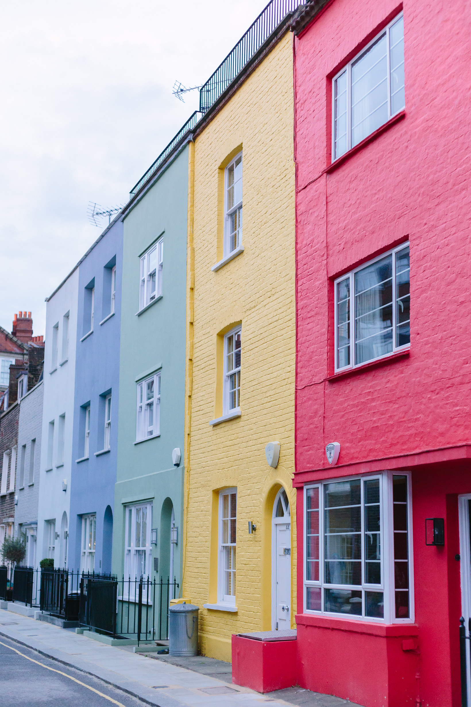 Photo Essays Colorful Houses Of London York Avenue