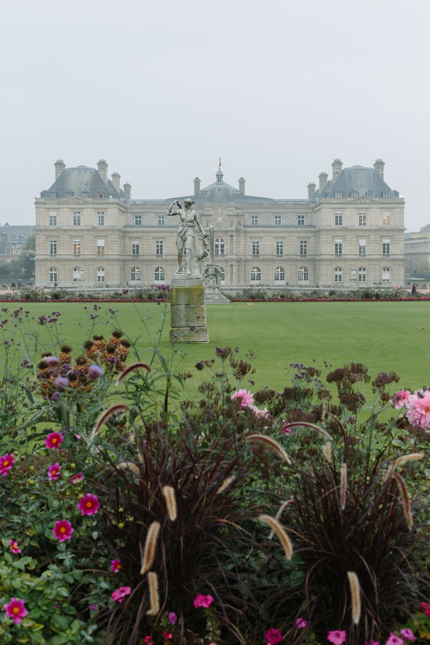 Paris Essays Jardin du Luxembourg York Avenue