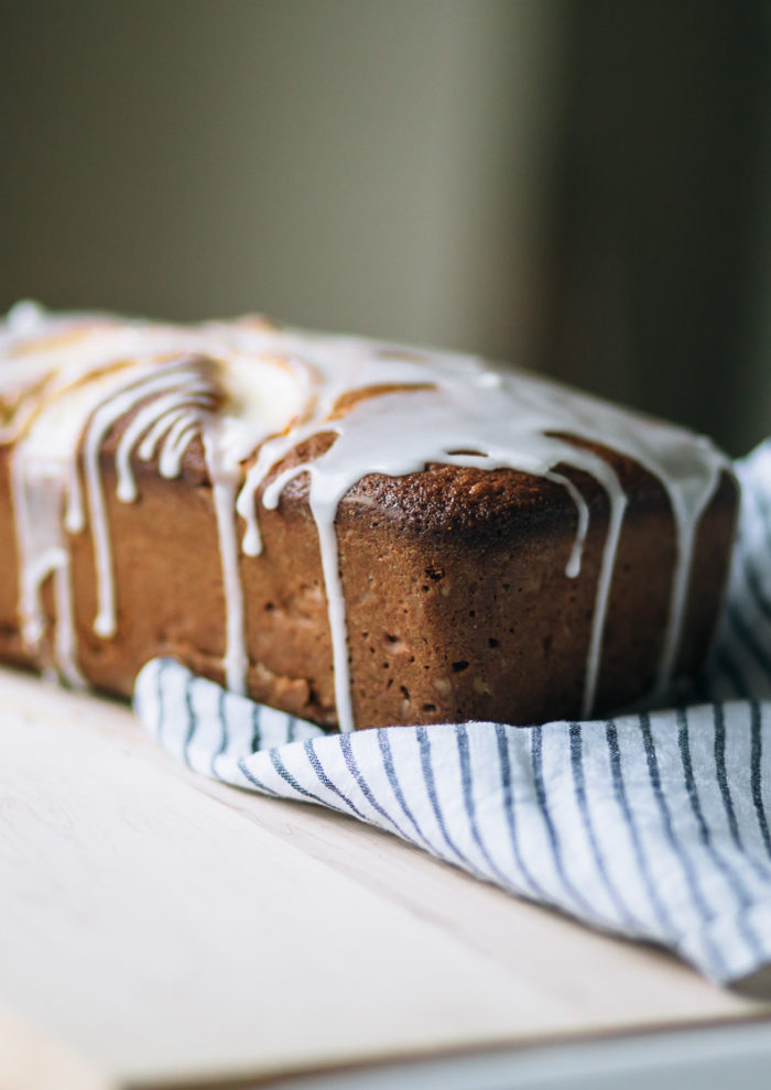 Melissa Clark's Apple Buttermilk Loaf Cake