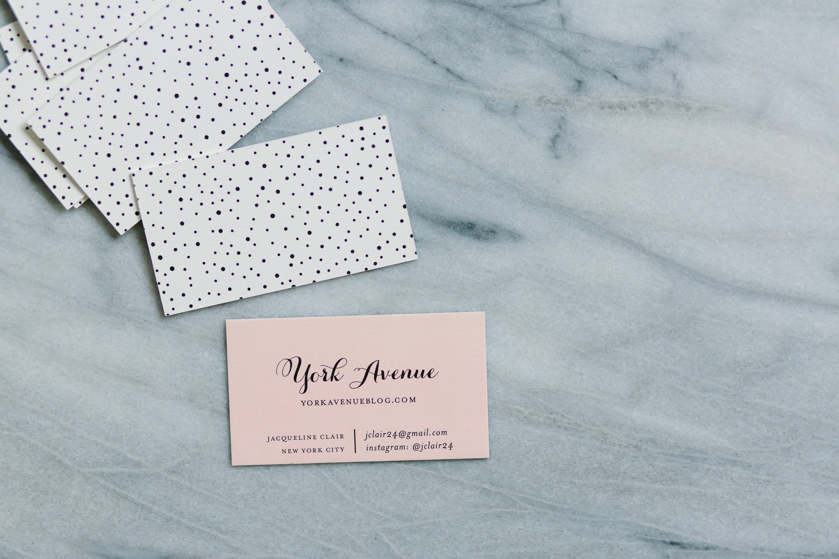 How my business cards helped me win a tropical vacation seriously and i knew they were getting that sense from the heavy weight of the card i also liked the pink obvi and the dots on the back colourmoves