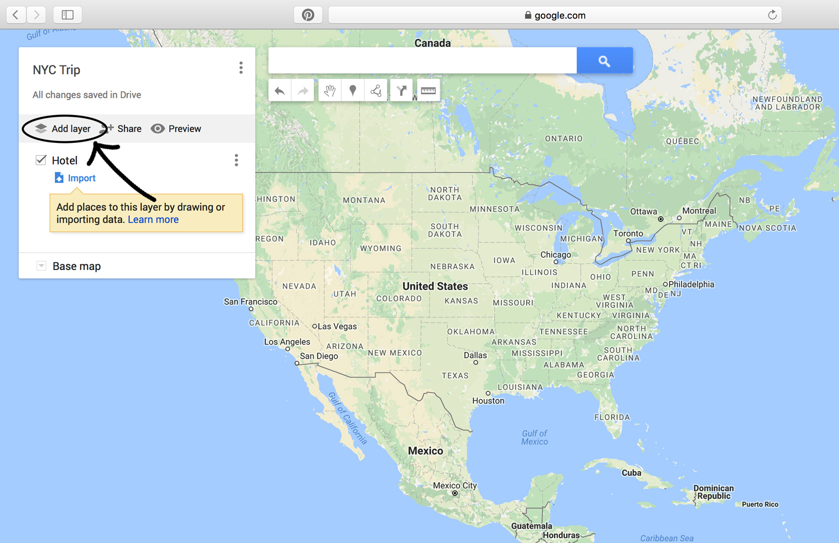 Map Of Florida Google.10 Step Tutorial To Make A Custom Google Map For Your Next Trip