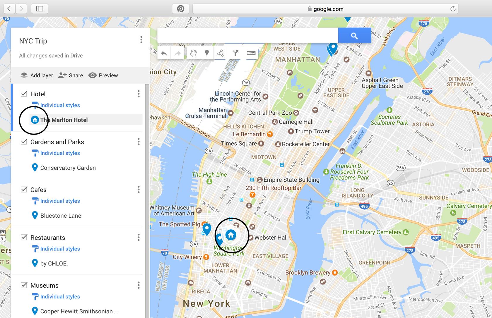 10 Step Tutorial to Make a Custom Google Map for Your Next Trip