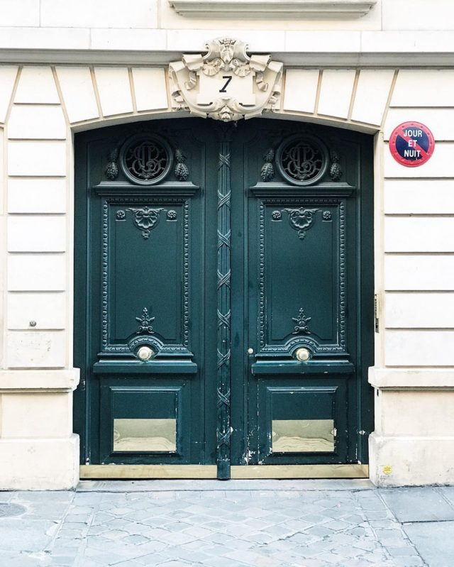 Another pretty Paris door doorsofparis