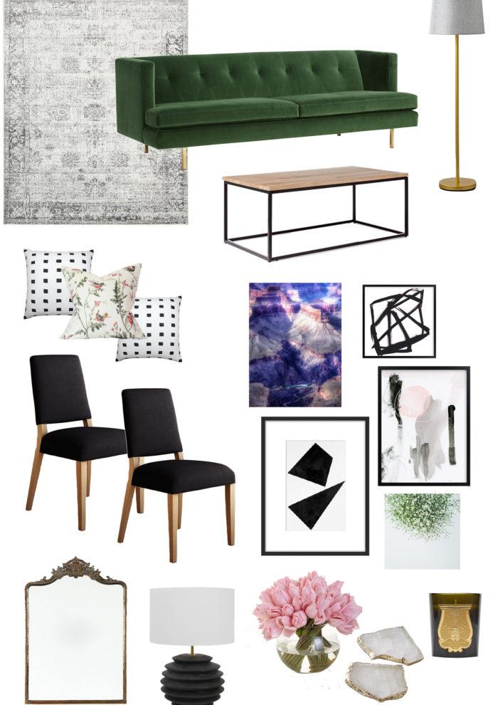 A Sleek Living Room Design