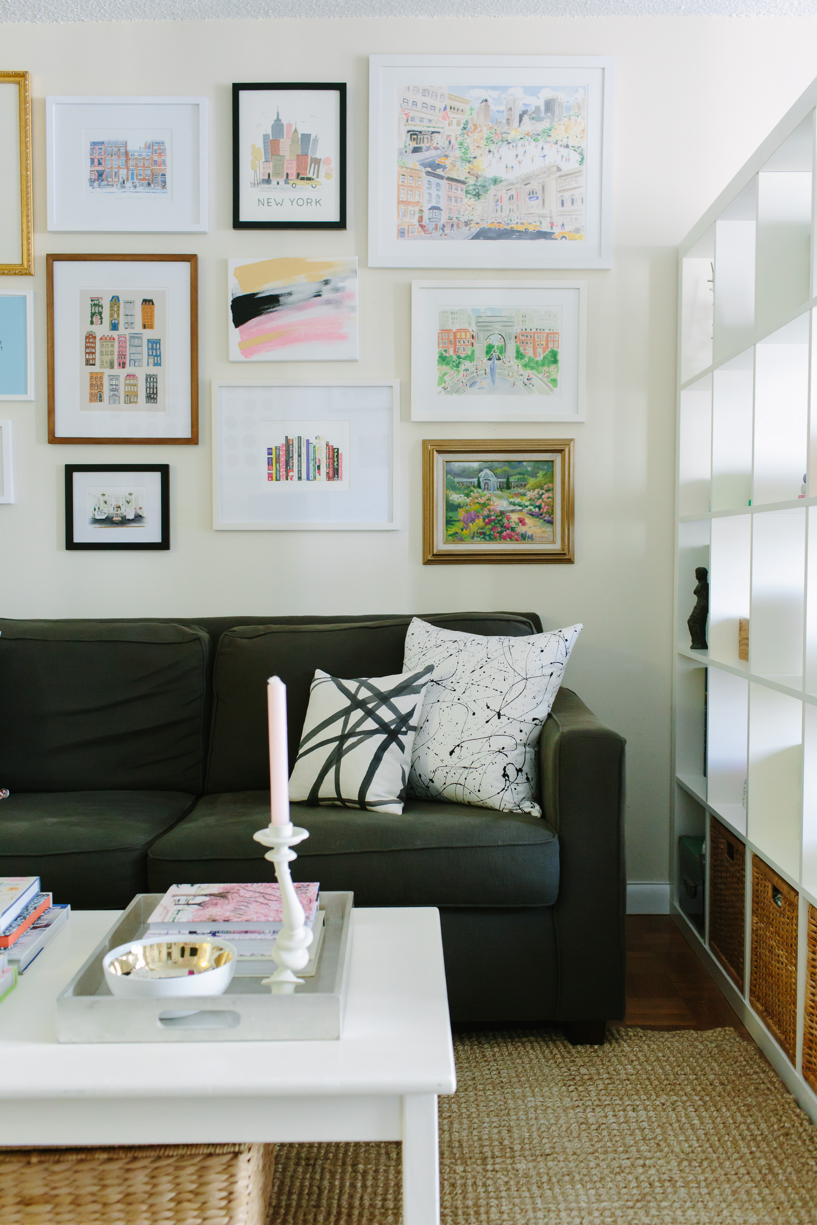 Decorating My Apartment Living Room: Home Tour: My NYC Studio Apartment