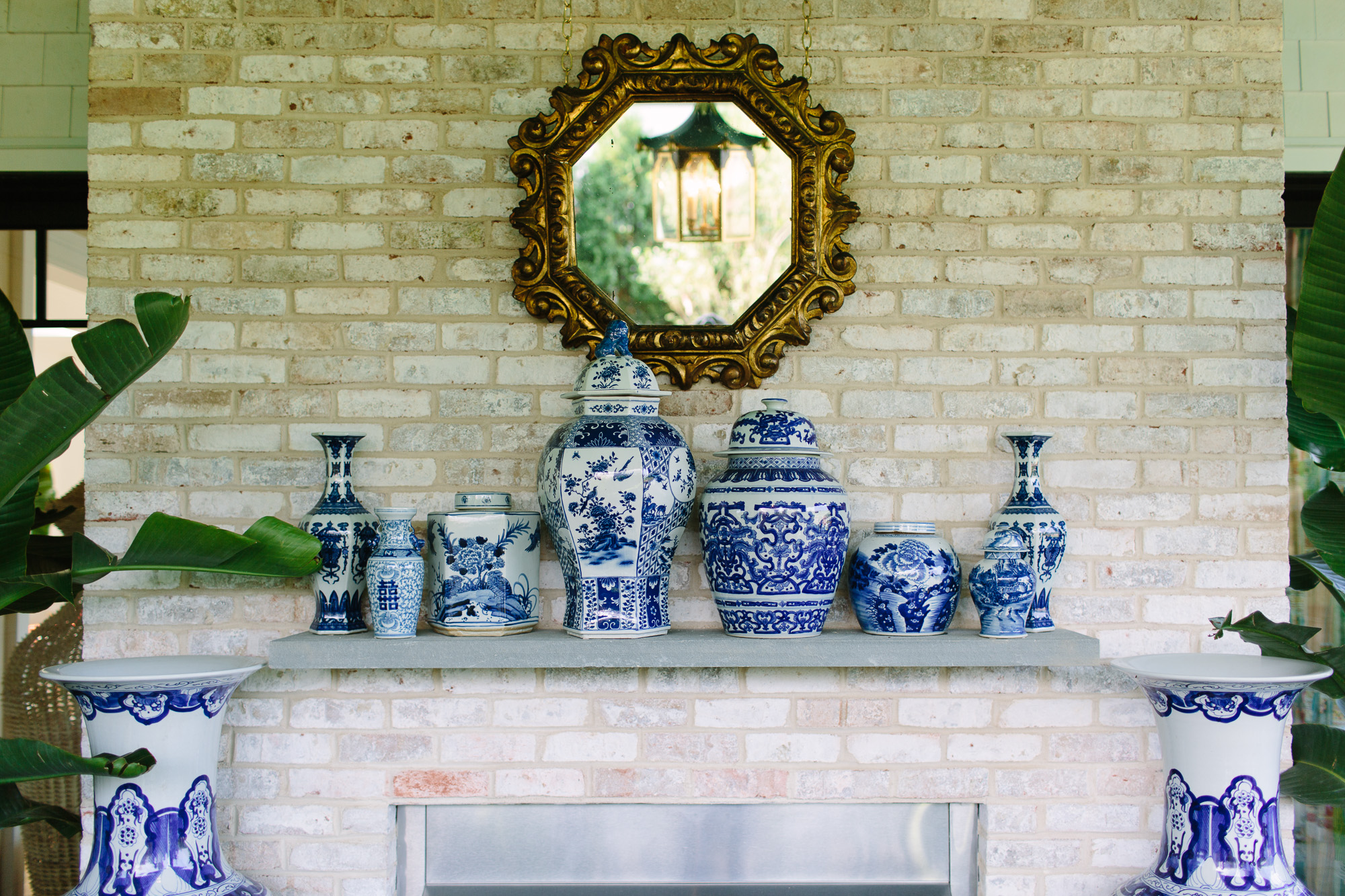 covered porch by gregory shano at the 2017 Hampton Designer Showhouse