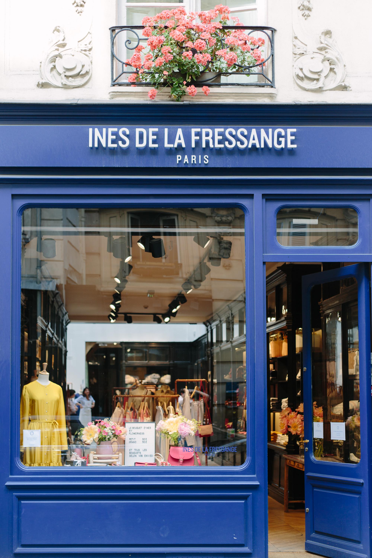 boutique ines de la fressange ins de la fressange at paris couture week in january photo de. Black Bedroom Furniture Sets. Home Design Ideas