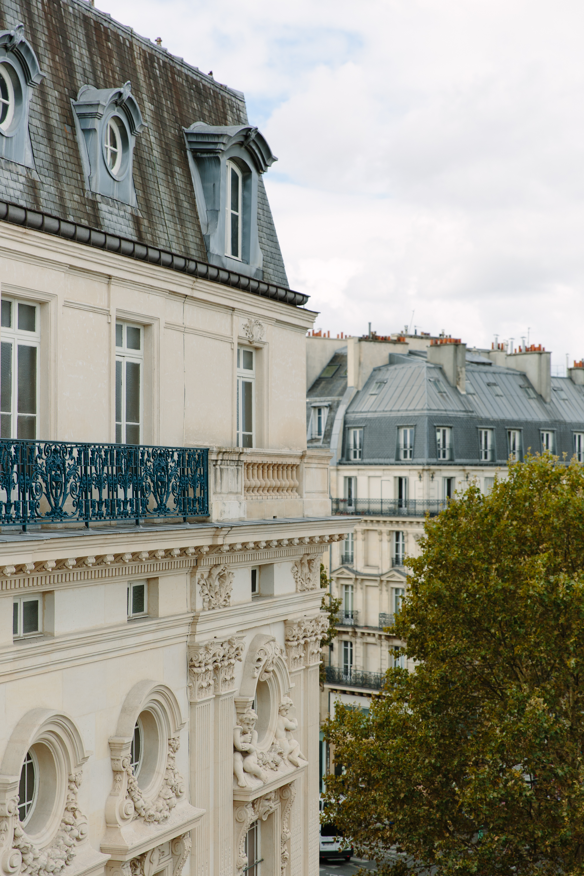 view from Hotel Providence Paris balcony