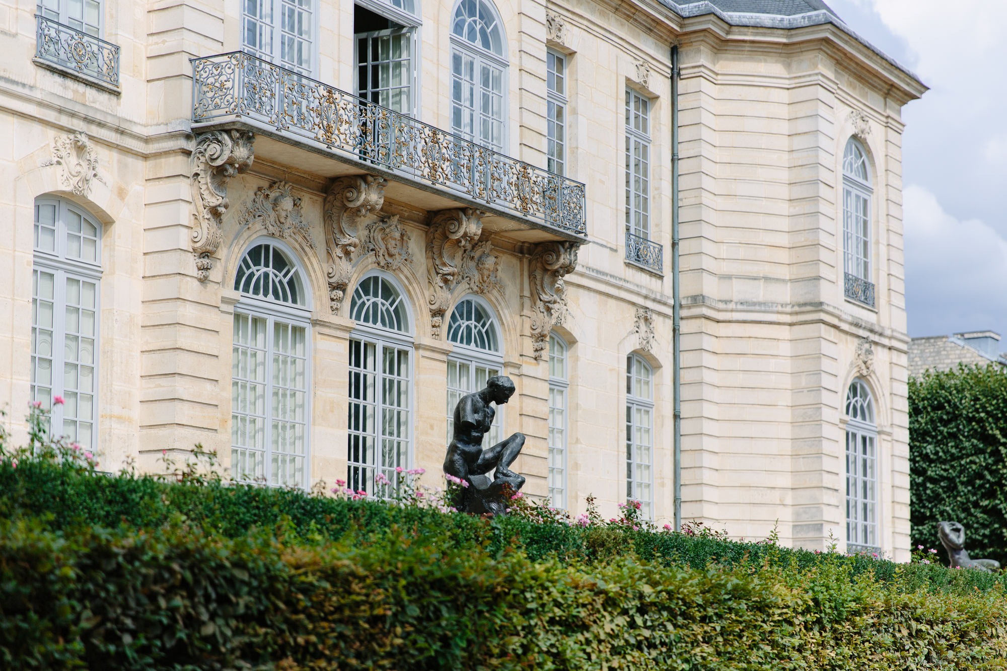 exterior of Musee Rodin in Paris