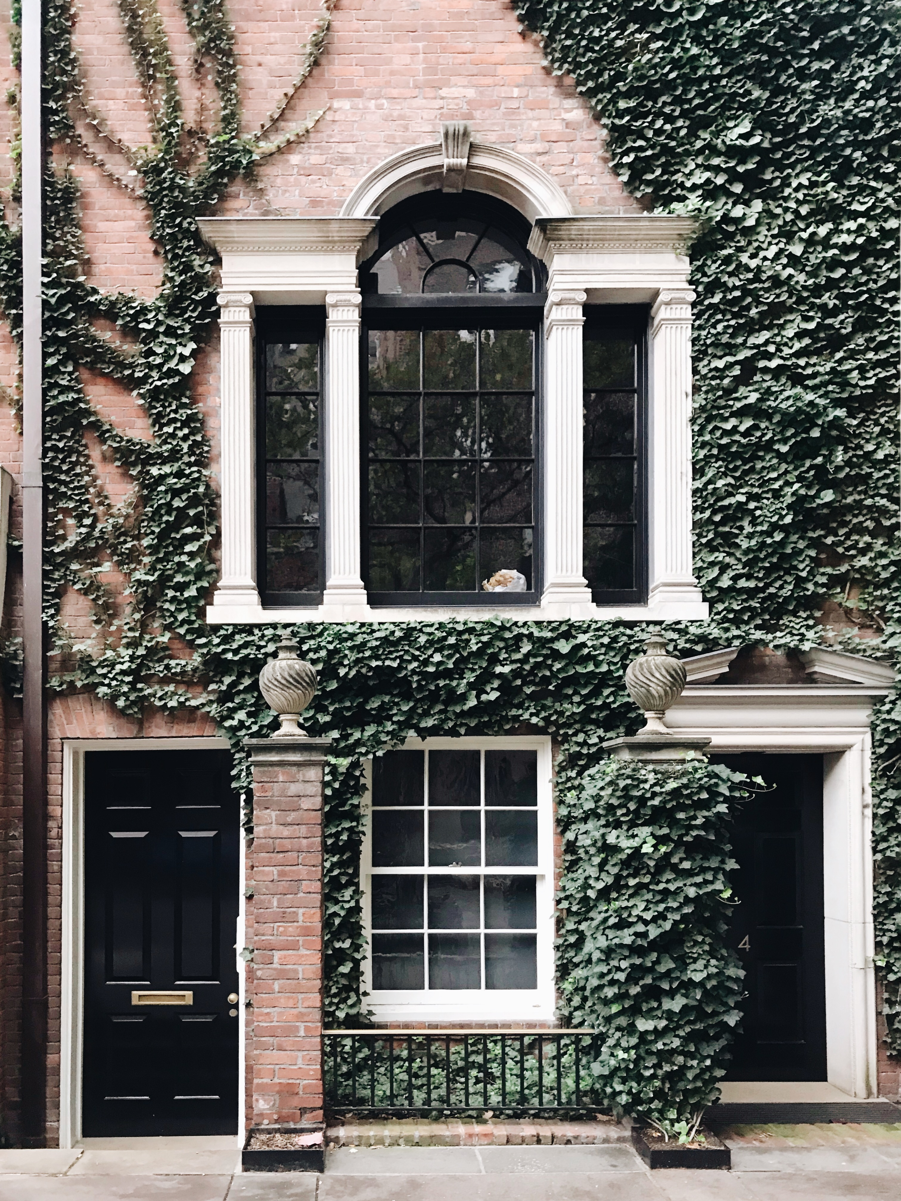 ivy covered house upper east side