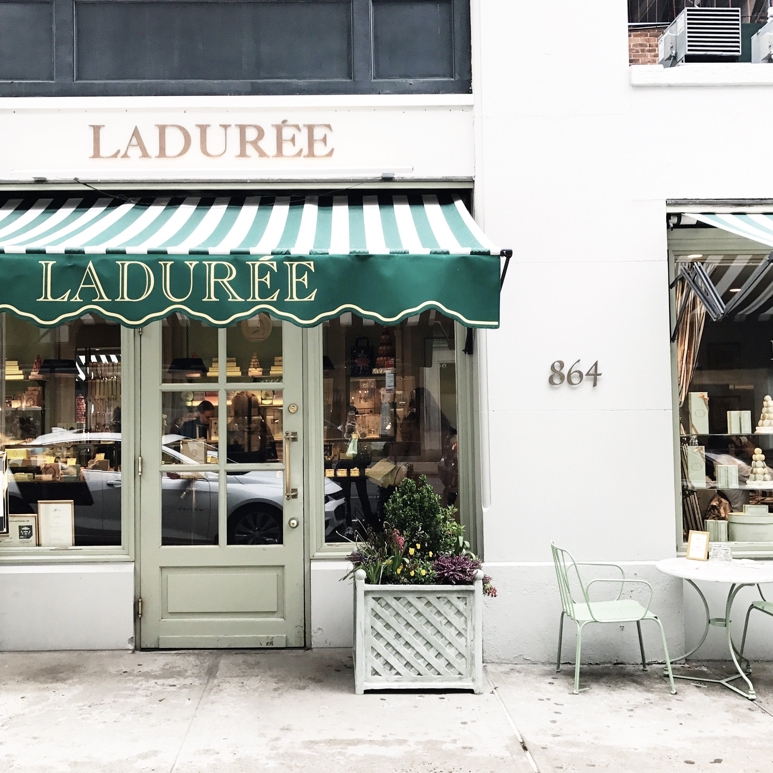 Laduree best desserts on the Upper East Side