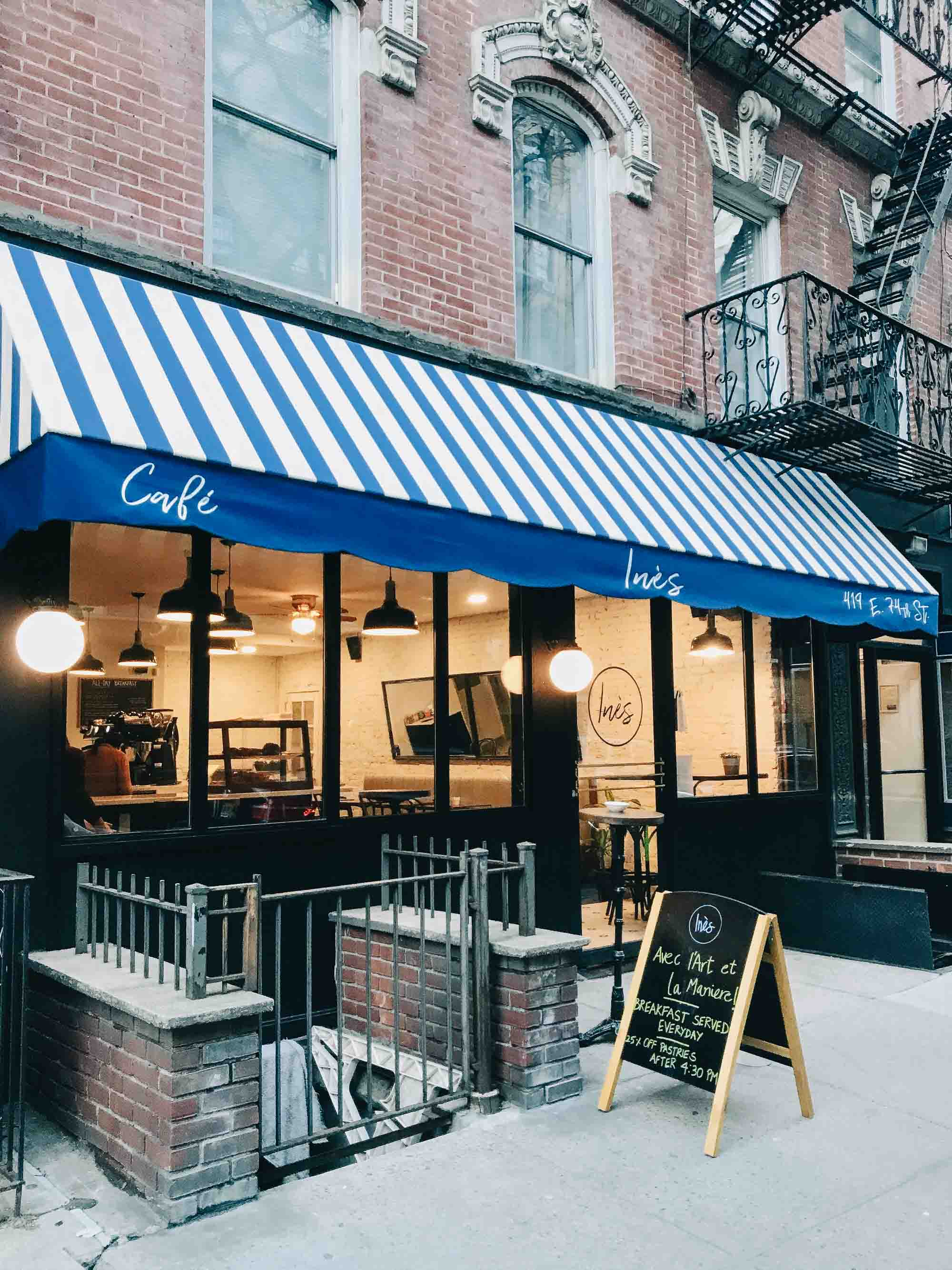 best coffee shops on the upper east side