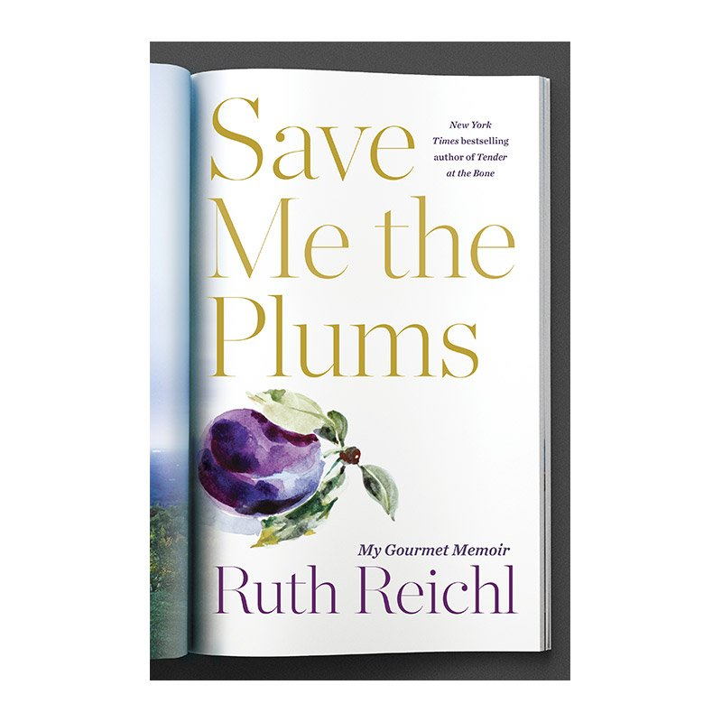 New books to read featured by top US life and style blog, York Avenue; Save Me the Plums
