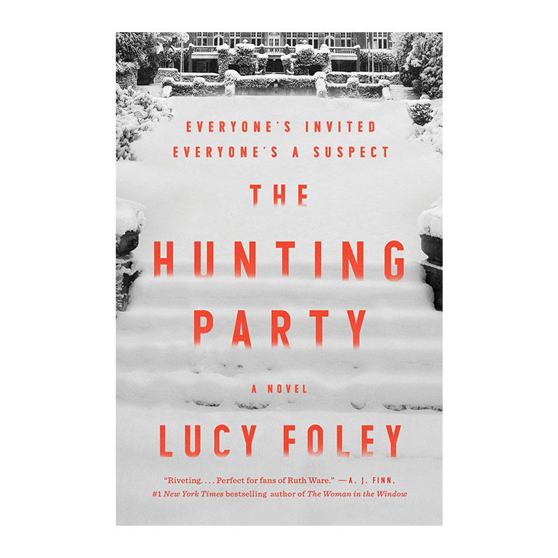 New books to read featured by top US life and style blog, York Avenue; The Hunting Party