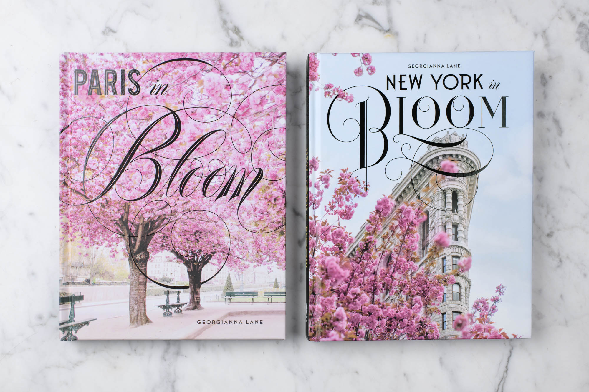 New York in Bloom and Paris in Bloom Georgianna Lane book cover