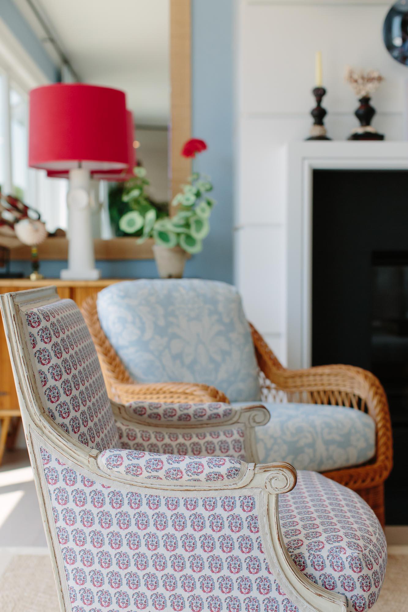 Alessandra Branca living room at the 2019 Hampton Designer Showhouse