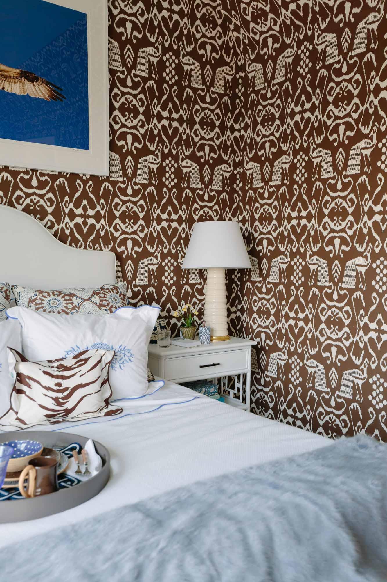 Leta Austin Foster bedroom at the 2019 Hampton Designer Showhouse