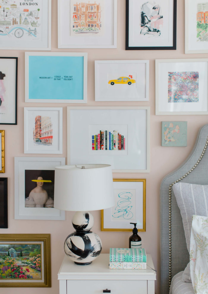 A Tour of My Gallery Wall + Full Source List